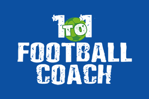 1to1 football coach in UK LOGO